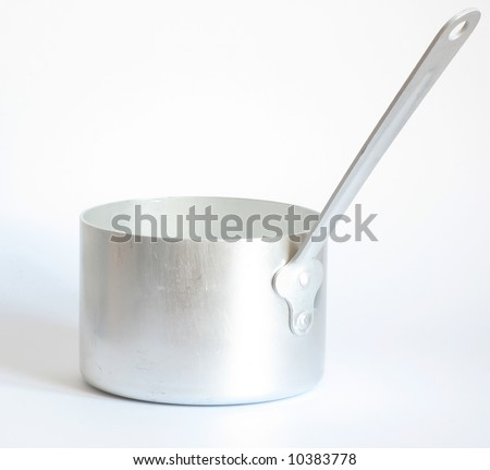 pan without lid - stock photo