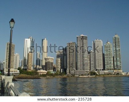 panama - stock photo