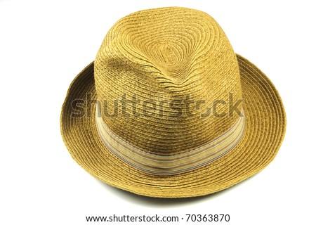 Panama Straw hat - stock photo