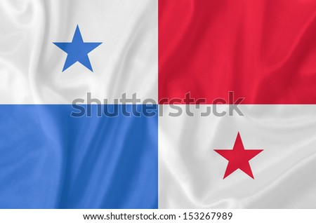 Panama waving flag - stock photo