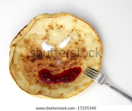 pancake - stock photo