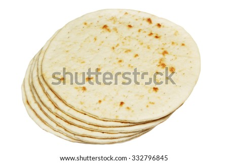 Pancakes it is isolated on a white background