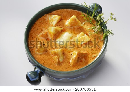 Paneer Butter masala, Paneer Makhani, India - stock photo