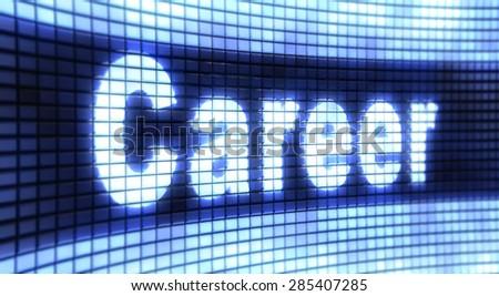 Panel Career - stock photo