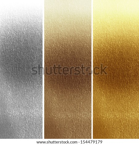 panels in different materials with some fine grain in it - stock photo