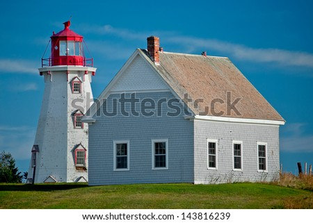 Panmure Head Lighthouse, Prince Edward Island.