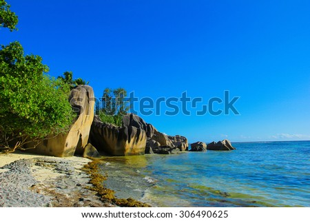 Panorama Dream Shore  - stock photo