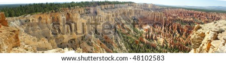 Panorama of Bryce Canyon National Park, Utah