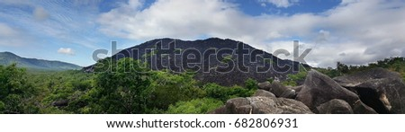 panorama of the Black Mountains near Cooktown Australia