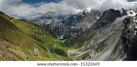 Panorama Ortler - stock photo