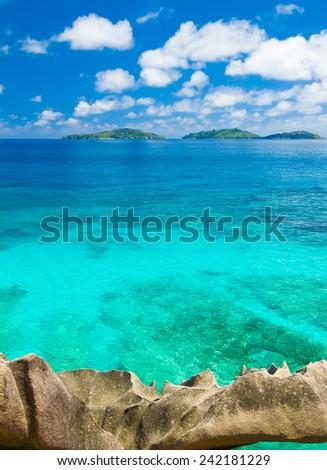 Panorama Shore Sea  - stock photo