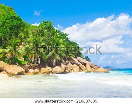 Panorama Summertime Landscape  - stock photo
