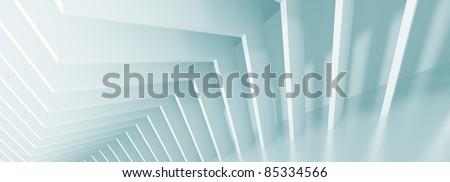 Panoramic Architecture Background - stock photo