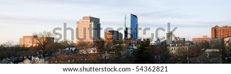 Panoramic Lexington, Kentucky, USA, North America. - stock photo