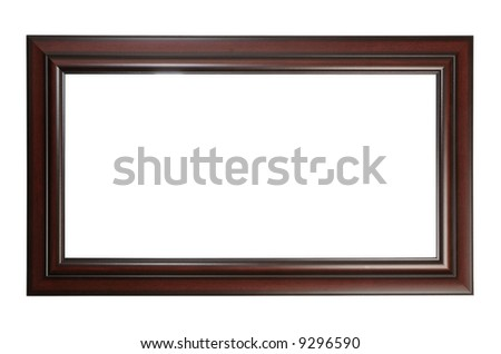 Panoramic picture frame - stock photo