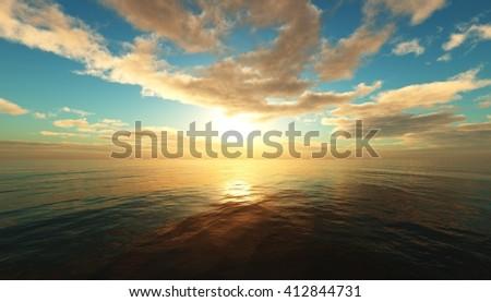 Download 3D Ocean Sunset for windows 10 64bit free version