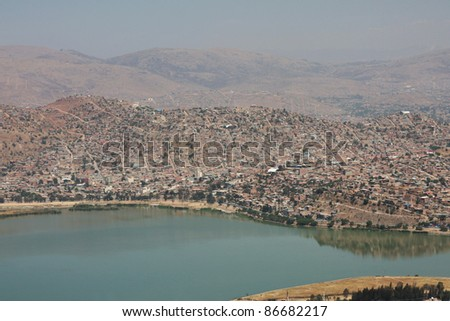 panoramic view of cochabamba in bolivia