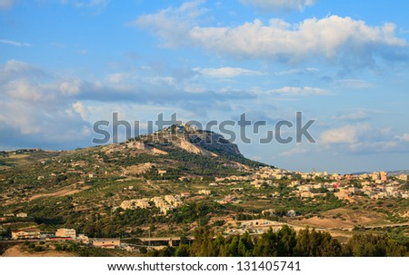 Panoramic view of Sciacca, Sicily