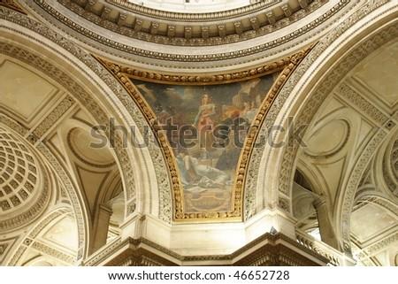 Pantheon, Paris - stock photo