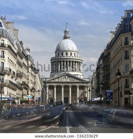 Pantheon Paris, France, Europe - stock photo