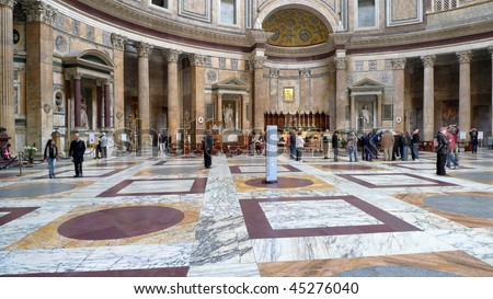 Pantheon, the oldest building in Rome