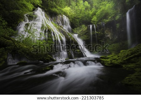 Panther falls. - stock photo