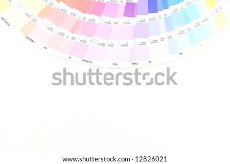 Pantone - stock photo