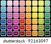 Pantone Button - stock photo