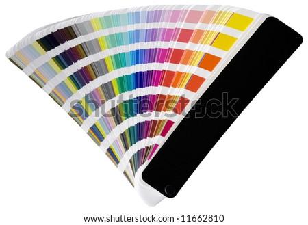 Pantone color scheme - stock photo