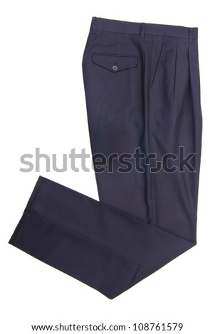 pants, pants on the background. - stock photo