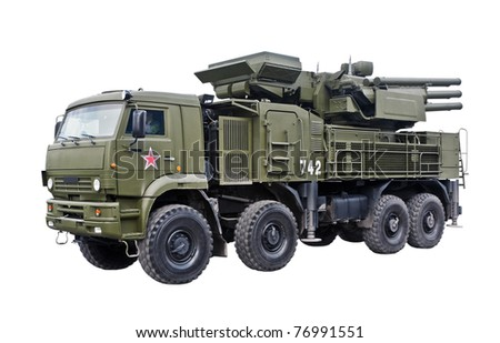 Pantsyr S1 Air Defence Missile / Gun System, Russia - stock photo