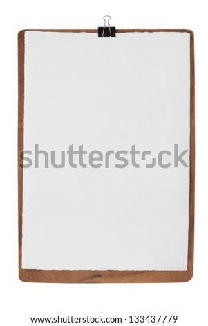 paper art on the board. - stock photo