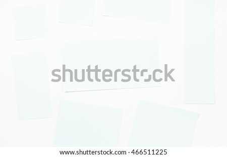 Paper Background of two tone which blue and white.