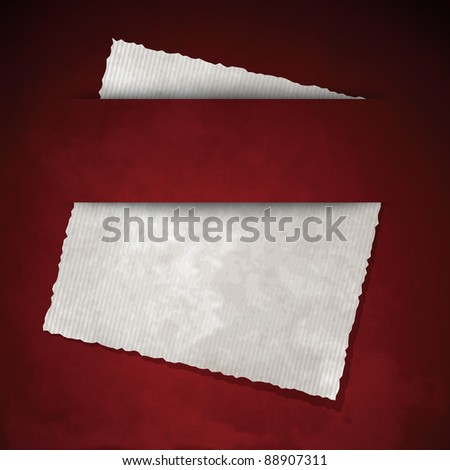 Paper background with editable copy space - stock photo