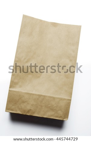 Paper bag - stock photo