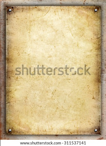 Paper board - stock photo