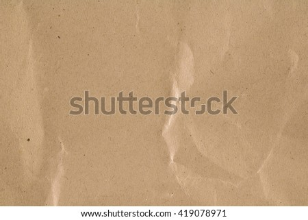 Paper Brown Background - stock photo