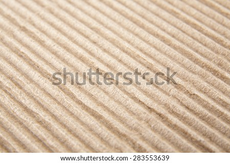 paper corrugated cardboard as background - stock photo