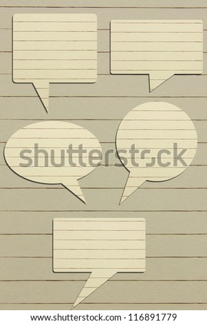 Paper for text. - stock photo