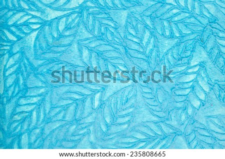 Paper from natural fibers - stock photo