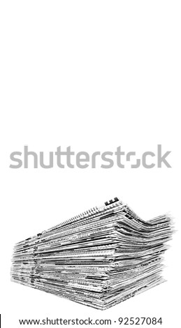 paper insulated - stock photo