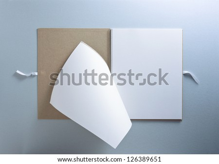 paper note - stock photo