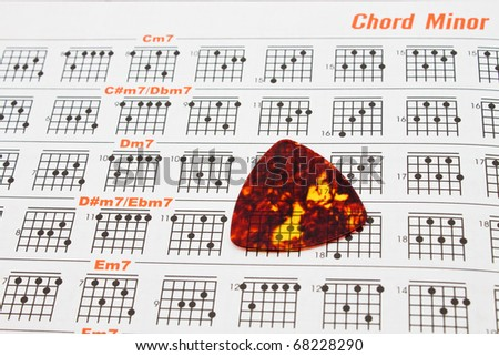 Guitar Chord Chart Stock Images RoyaltyFree Images  Vectors
