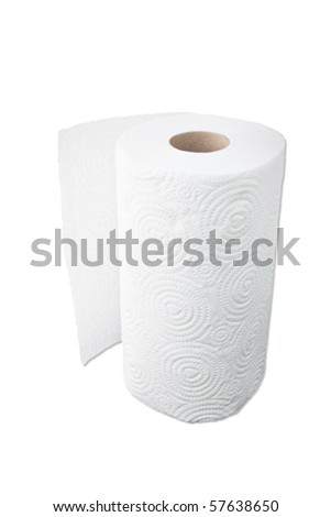 paper on roll - stock photo