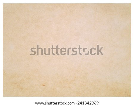 paper over white background - stock photo