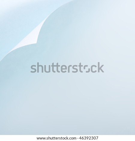 paper page curl background - stock photo