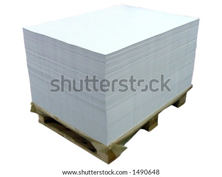 paper palette - stock photo