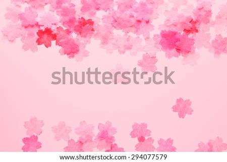 Paper, sakura - stock photo