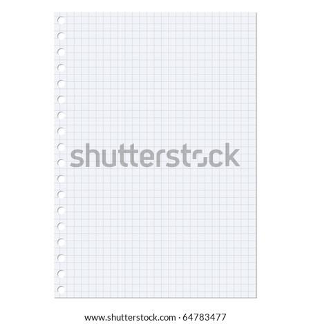 paper sheet - stock photo