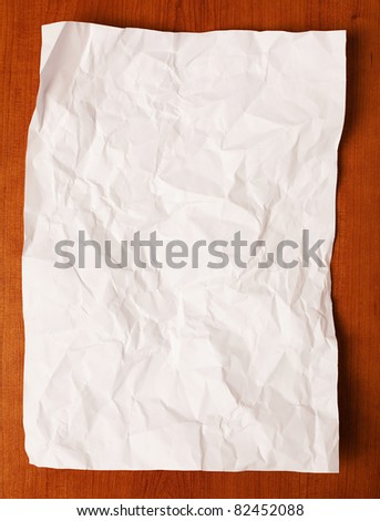 paper sheet - stock photo